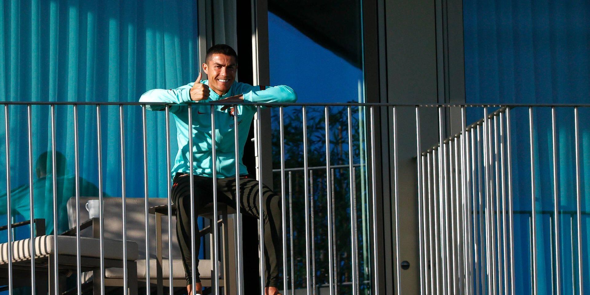 "Positif au coronavirus, Cristiano Ronaldo s'emporte: ""Le PCR, c'est de la merde"""