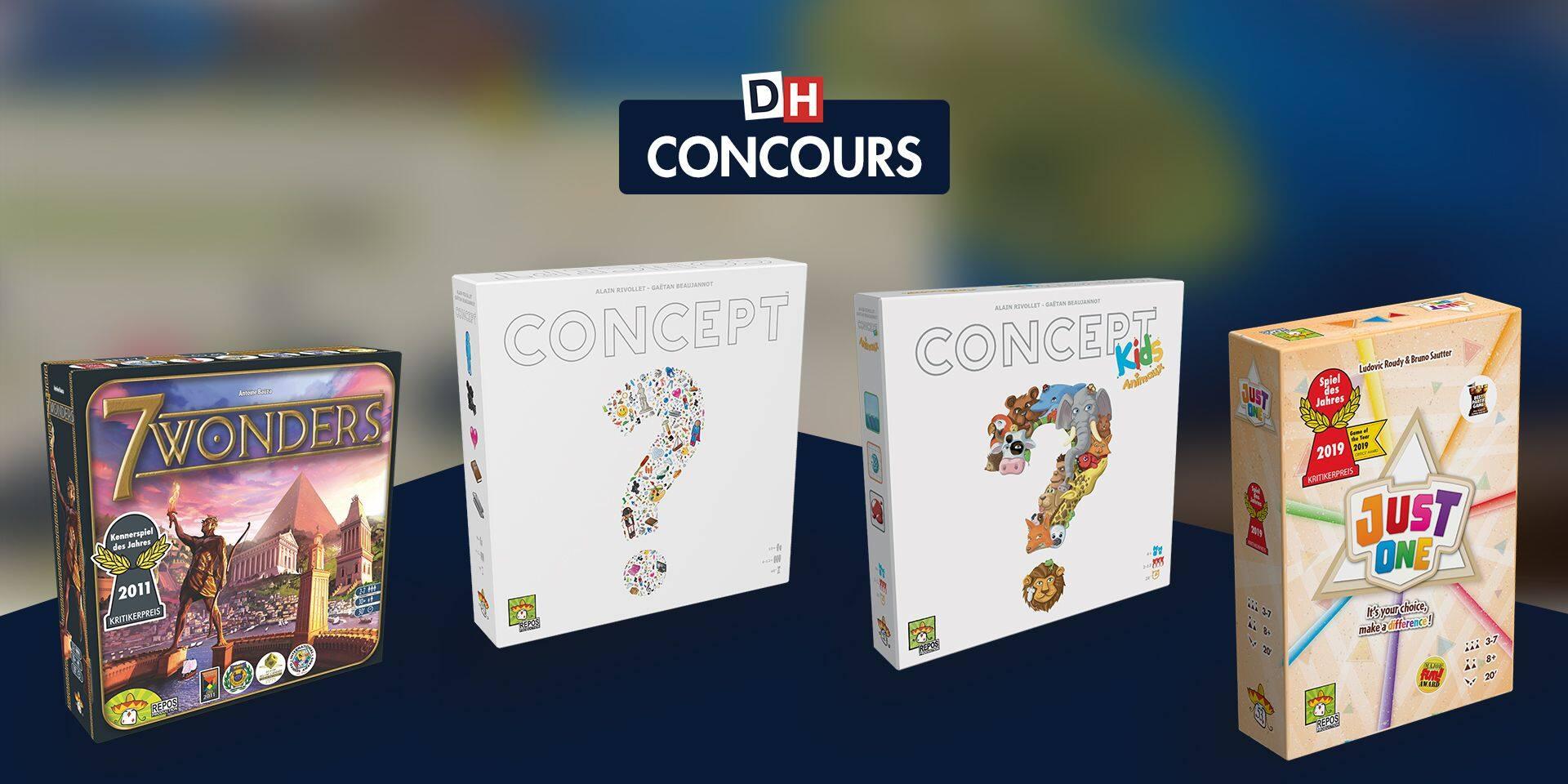 Concours : La DH vous offre des jeux de société !