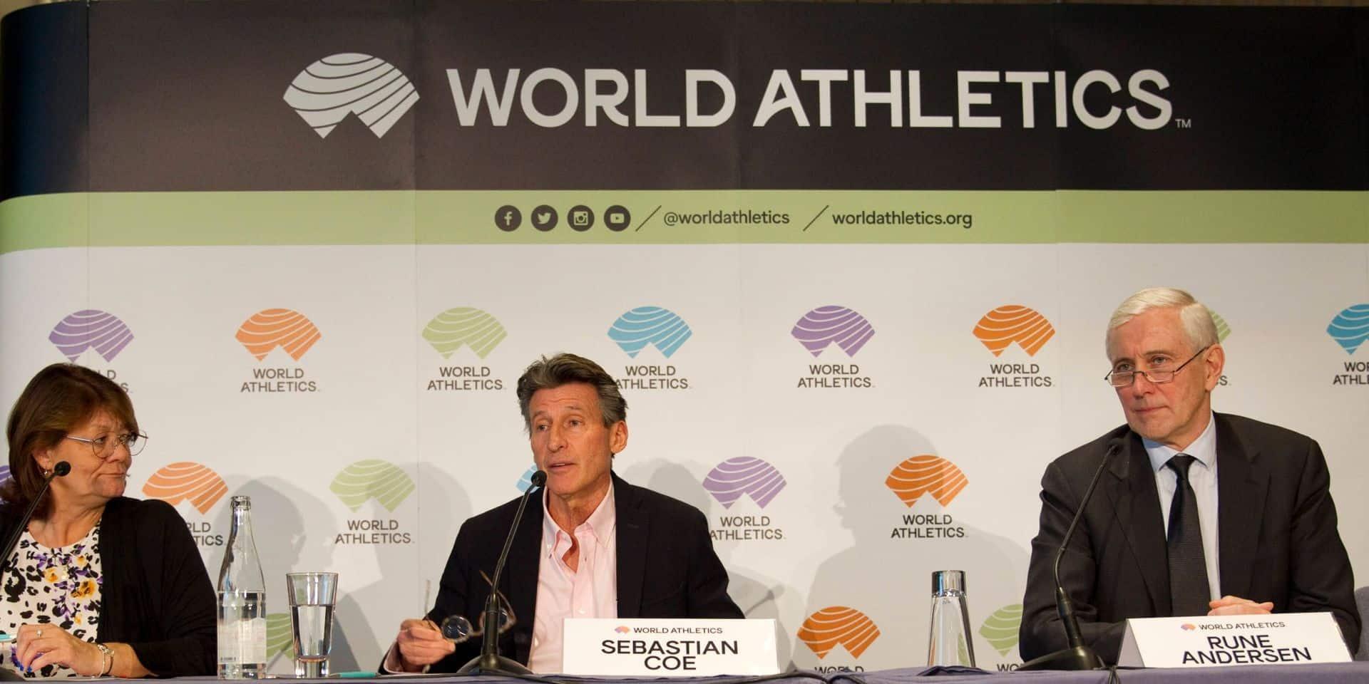 Les athlètes censés disputer les JO peuvent demander l'aide financière de World Athletics