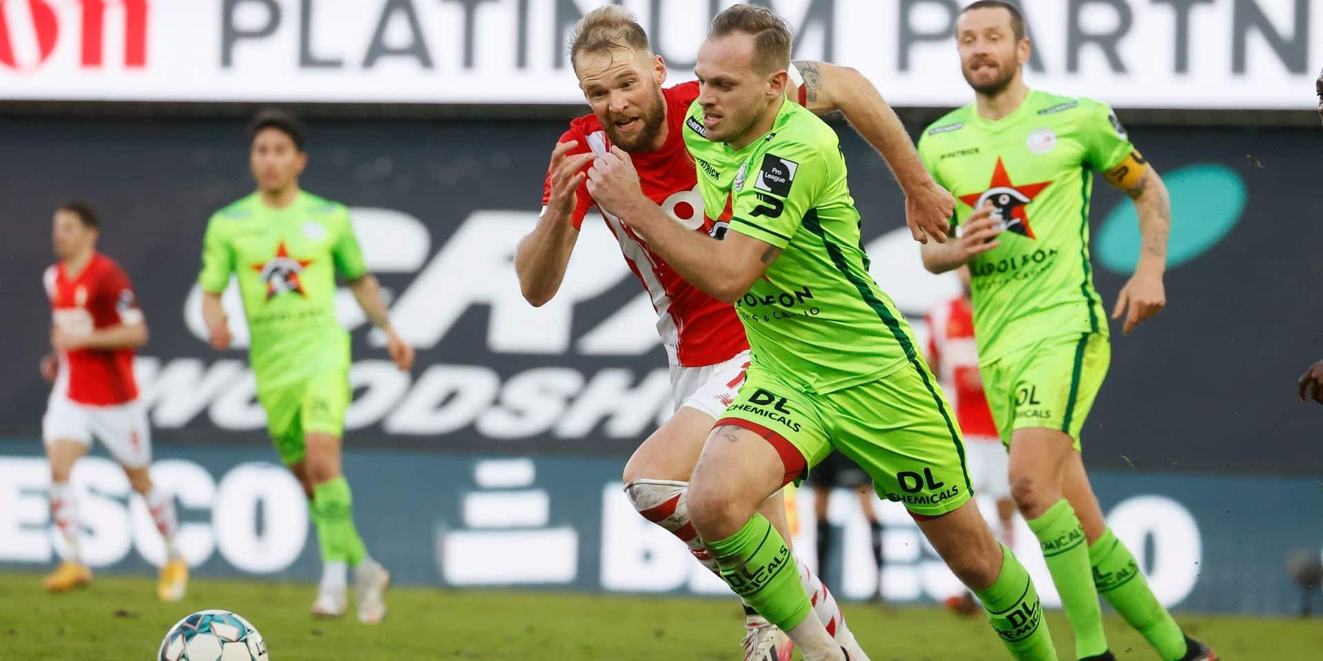 Le Standard s'incline à Zulte après avoir mené deux fois au score (3-2)