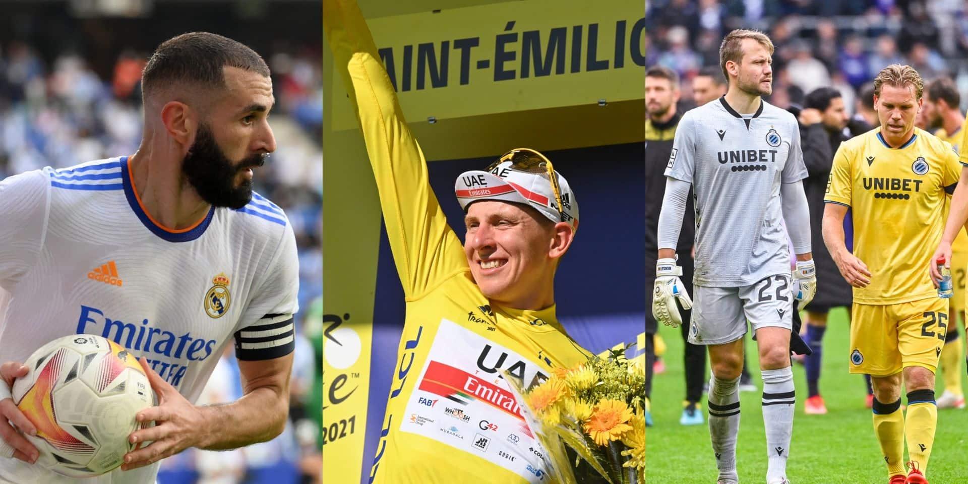 Les chances de Benzema au Ballon d'Or, parcours du Tour, Bruges: choisissez le sujet du jour