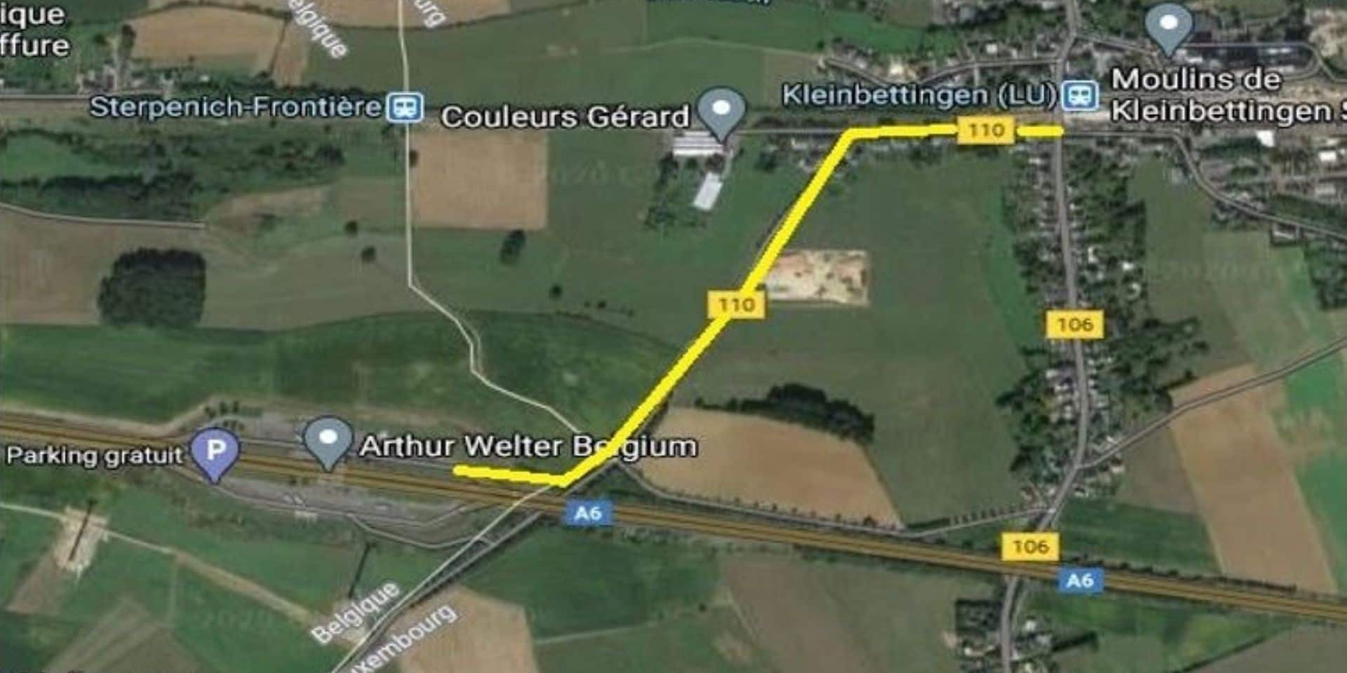 Sterpenich (Arlon) : une liaison vers la gare de Kleinbettingen ?