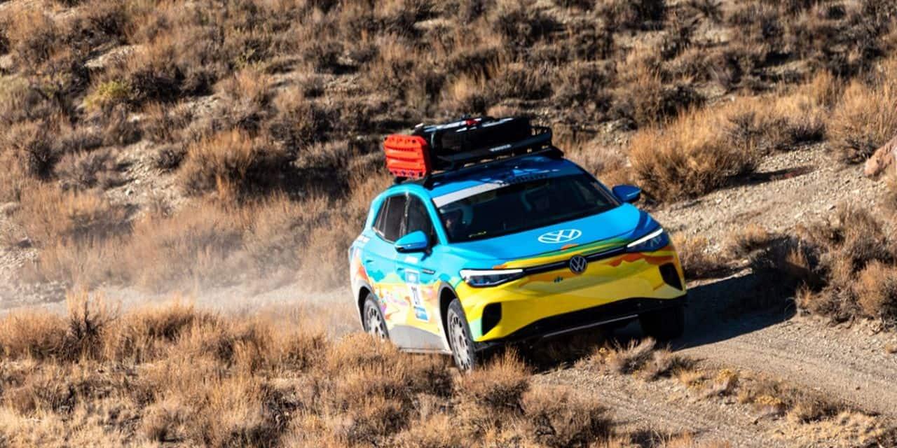 La Volkswagen ID.4 termine son deuxième rallye-raid