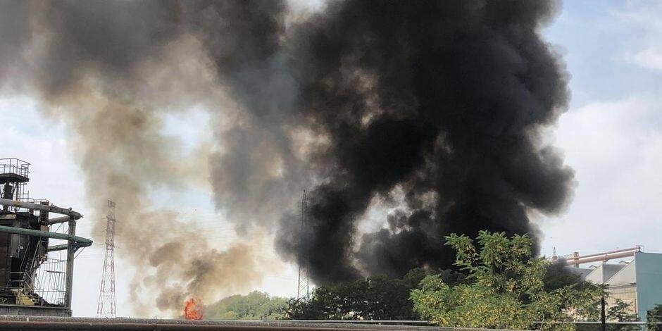 Seraing : L'incendie enfin éteint à Renewi