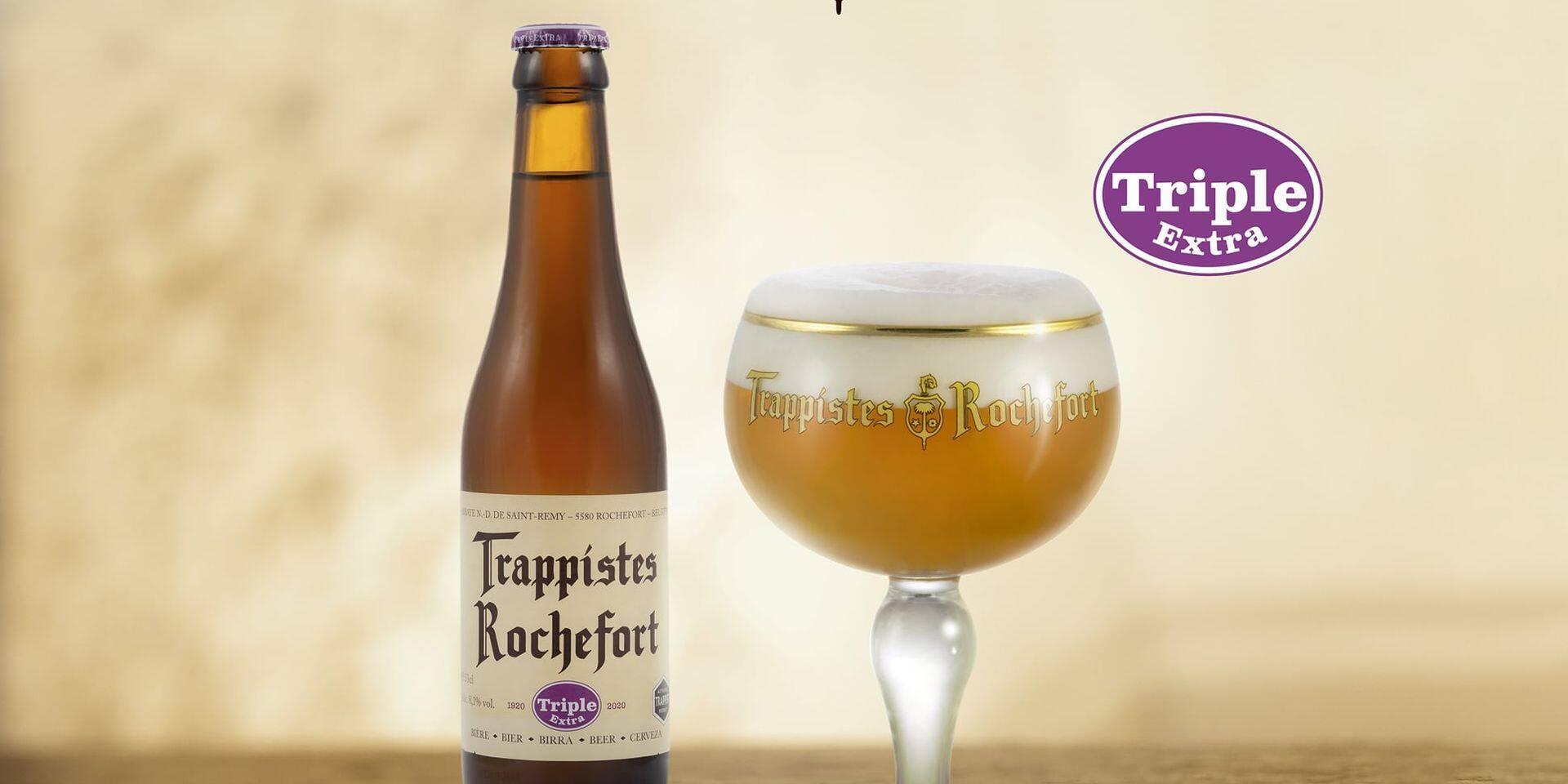 Une nouvelle bière à Rochefort : la blonde Triple Extra