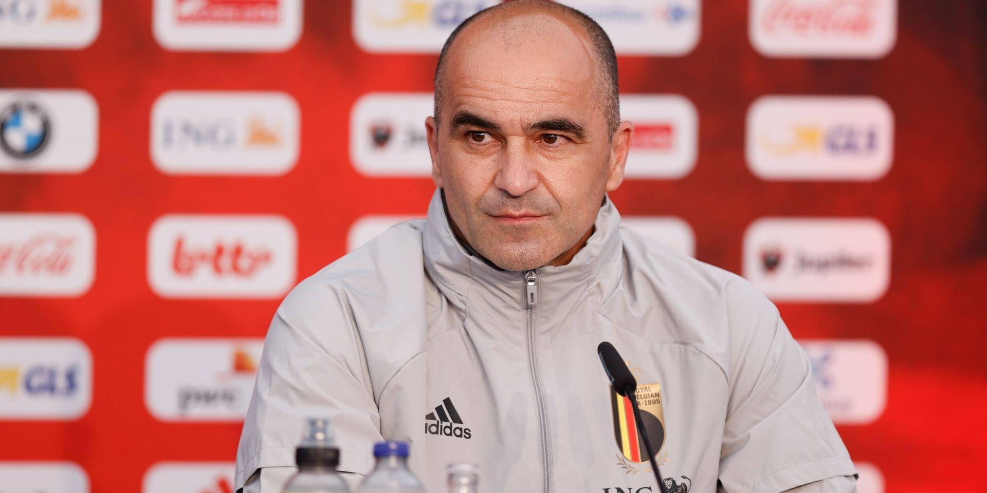 """Martinez: """"Eden Hazard montera au jeu contre la Croatie"""""""