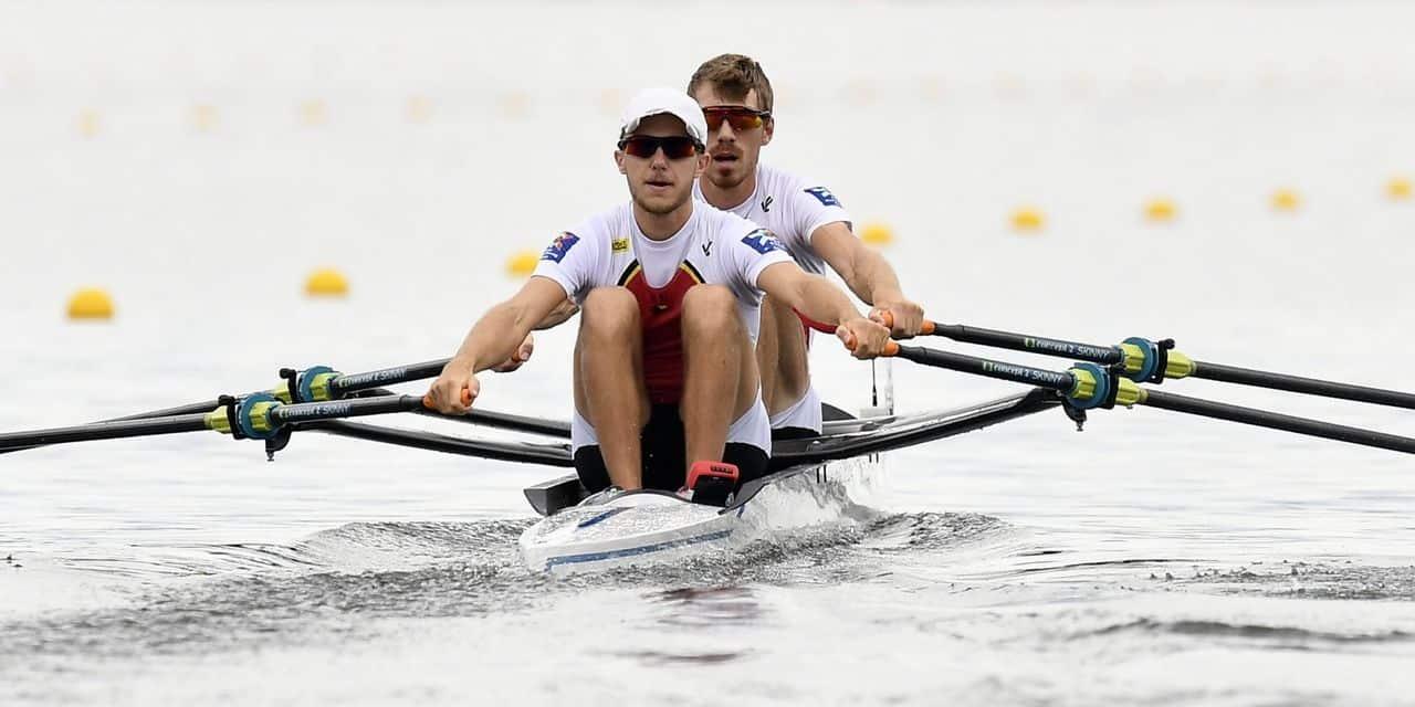 Mondiaux d'aviron: Niels Van Zandweghe et Tim Brys qualifiés pour les Jeux de Tokyo