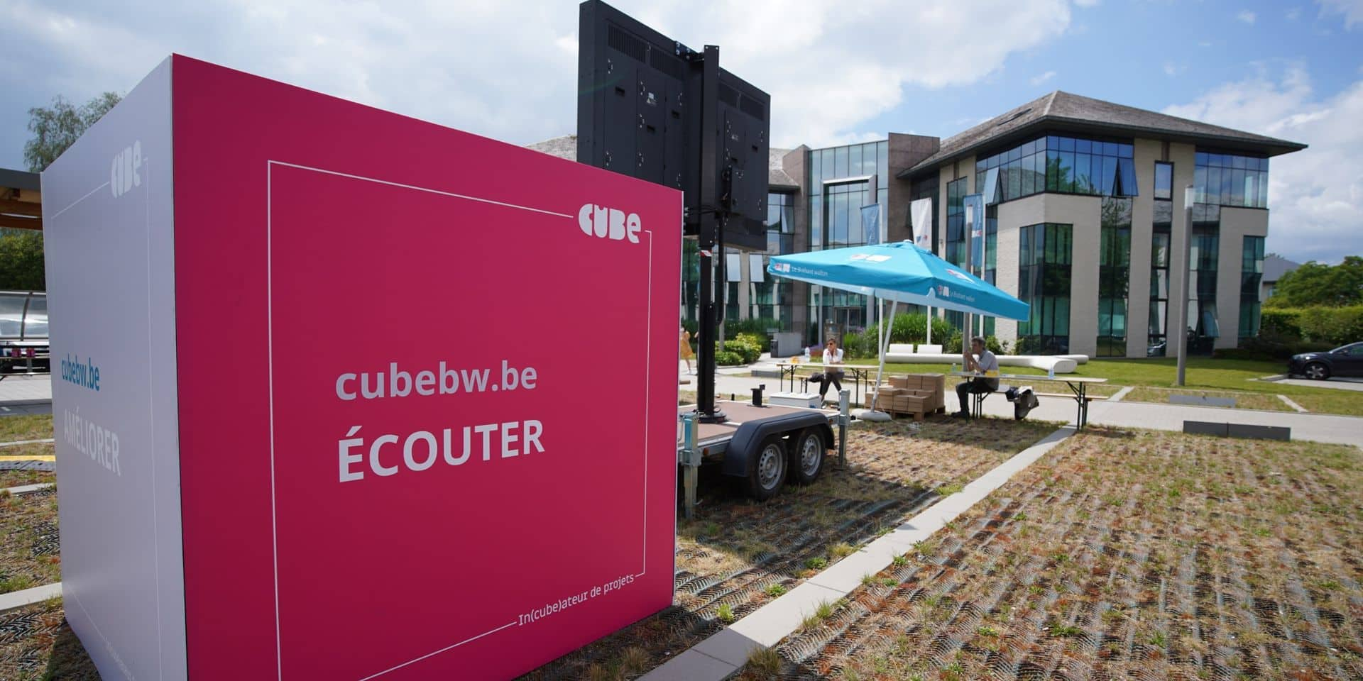 """""""Le Cube"""" du Brabant wallon livre ses premiers résultats"""