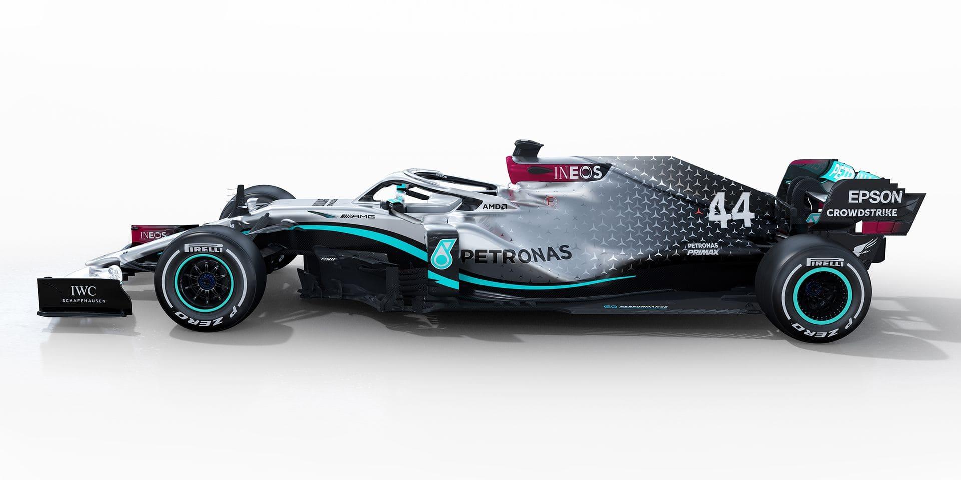 Mercedes présente sa nouvelle monoplace, la W11
