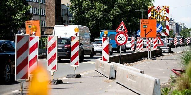 Bruxelles : Voici les principaux chantiers de l'été dans la capitale - La DH