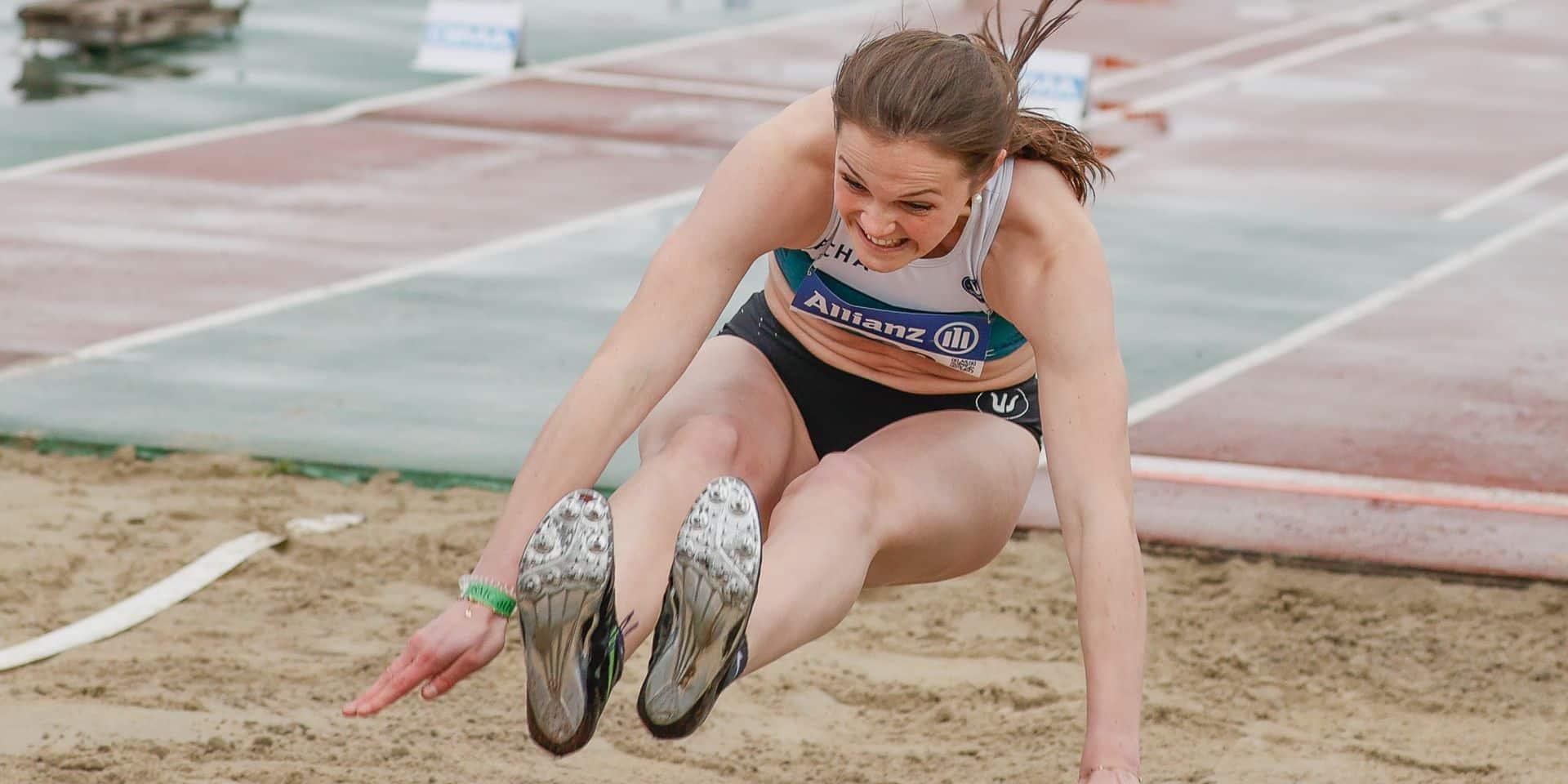 Argent et bronze: La belle moisson d'Ilona Masson aux Championnats de Belgique d'athlétisme