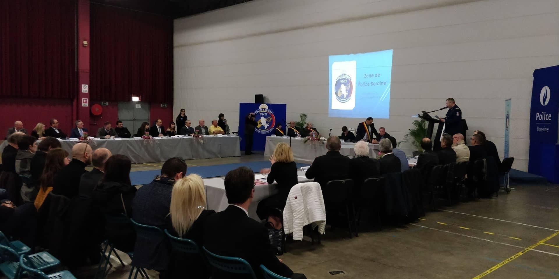 Nouveau conseil et nouveaux projets pour la zone de police boraine