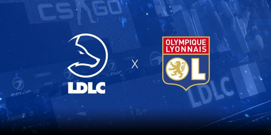 La Team LDLC s'associe à l'Olympique Lyonnais et devient LDLC OL
