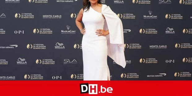 US actress Mariska Hargitay poses as she arrives for the opening of the 58th Monte-Carlo Television Festival on June 15, 2018 in Monaco. / AFP PHOTO / Valery HACHE