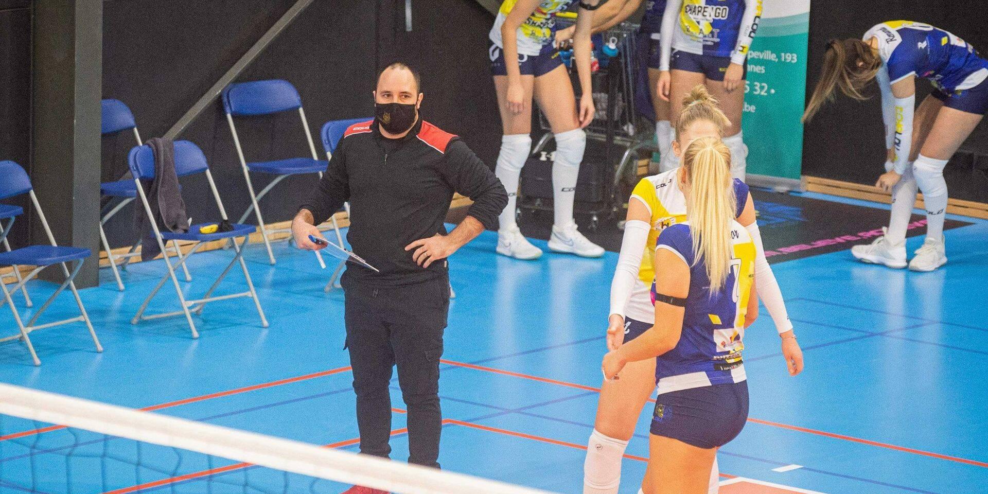 Pas de miracle pour Tchalou en demi-finales de la Coupe de Belgique de volley-ball