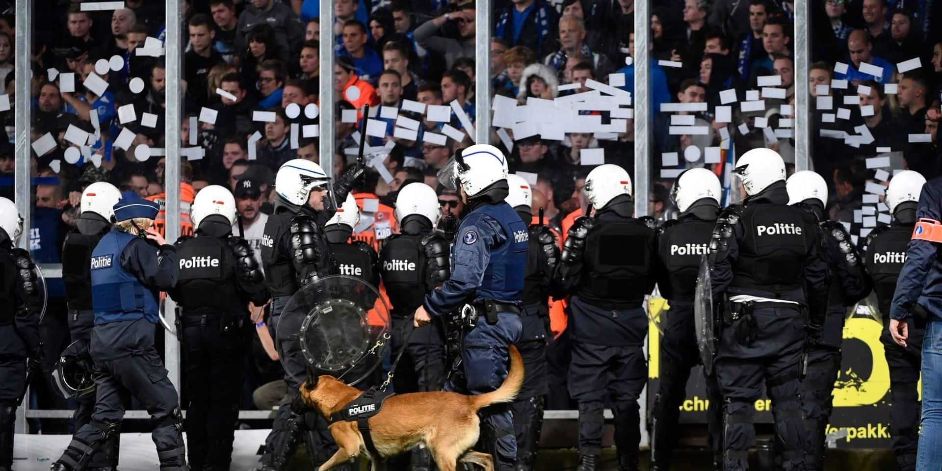 Football: la mobilisation de policiers a coûté 10,5 millions lors de la saison passée