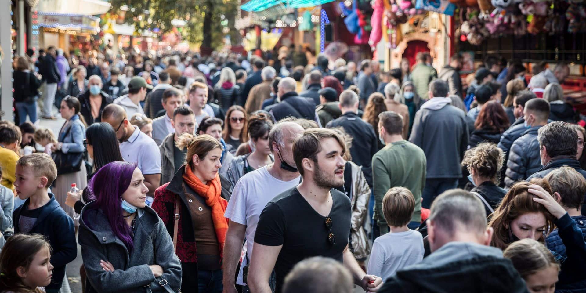 Foire à Liège 2021 : bas les masques !
