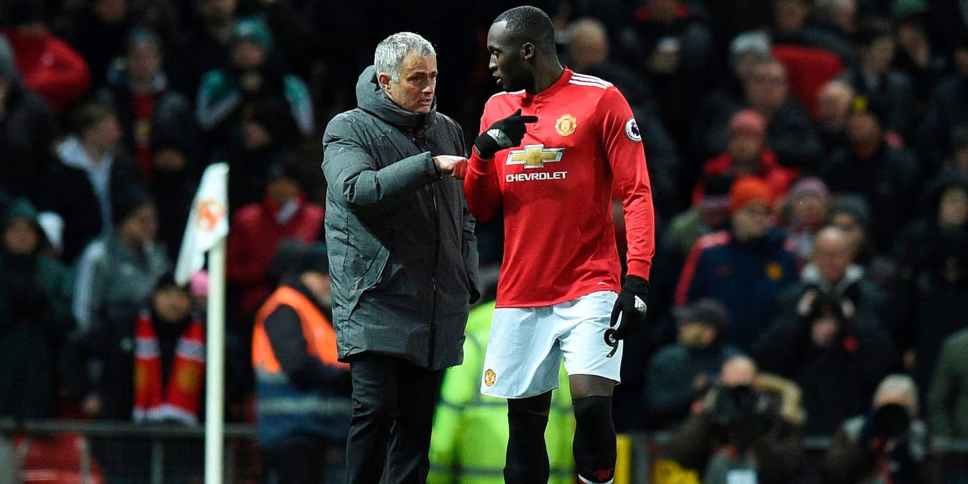 Romelu Lukaku encense jose Mourinho