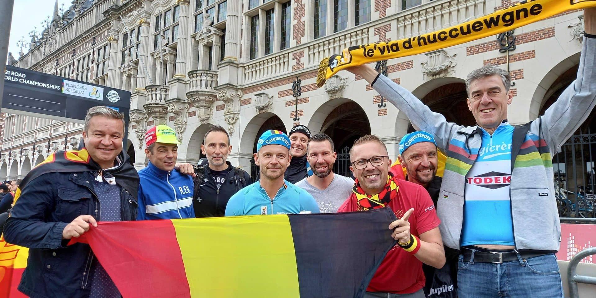 """""""Le cyclisme est à la maison"""": malgré la déception belge, la fête a été totale à Louvain"""