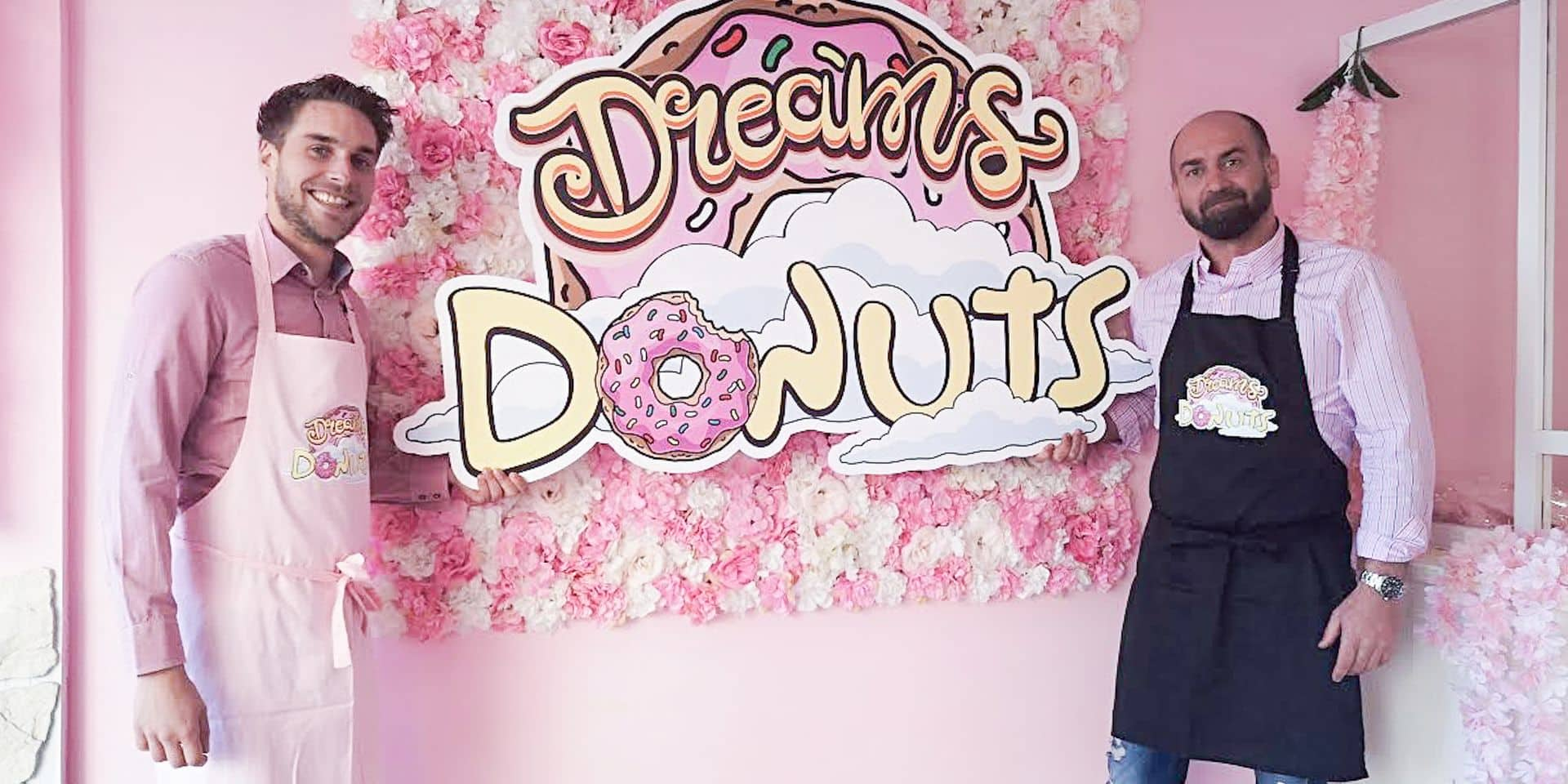 Ath: la vie en rose au Dreams Donuts