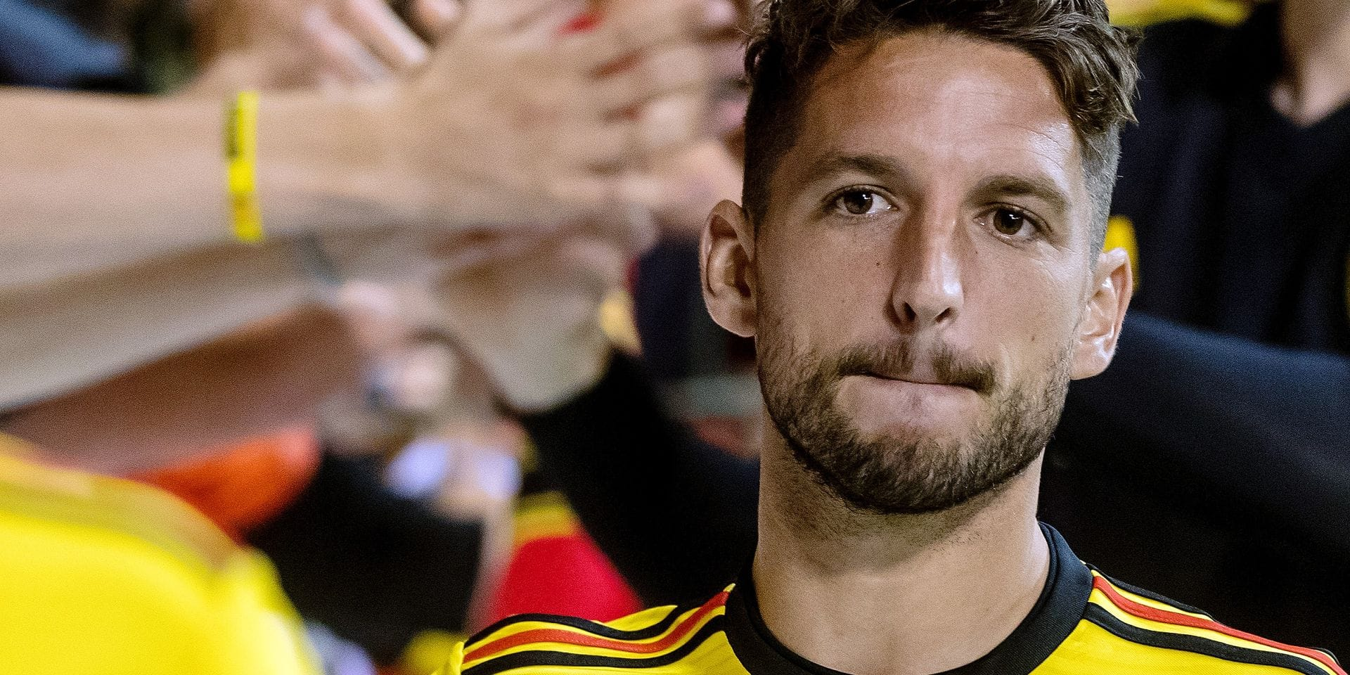Belgium, Brussels, Jun 11, 2018 - Friendly game between Belgian national team Red Devils and Costa Rica, as part of preparations for the 2018 FIFA World Cup in Russia - Dries Mertens Copyright Danny Gys / Reporters Reporters / GYS