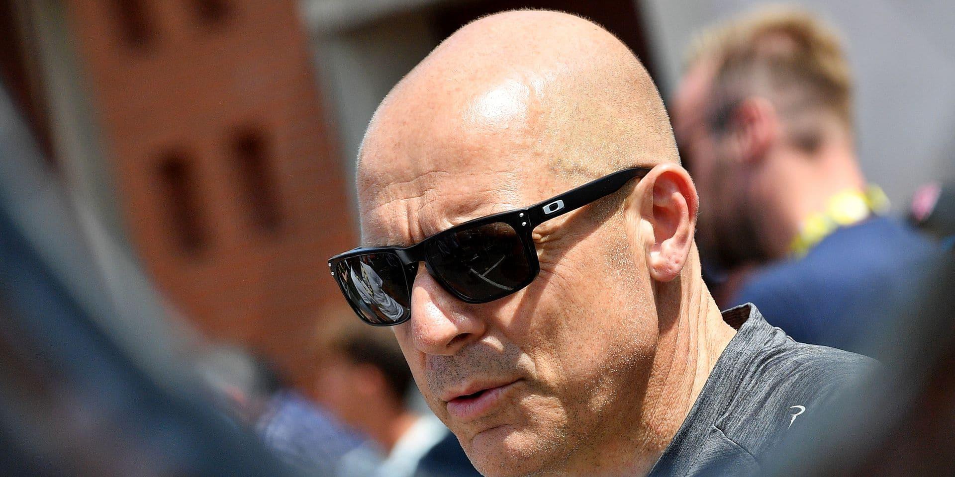 """Brailsford, big boss de la formation Ineos: """"Le cœur du cyclisme est en Belgique"""""""