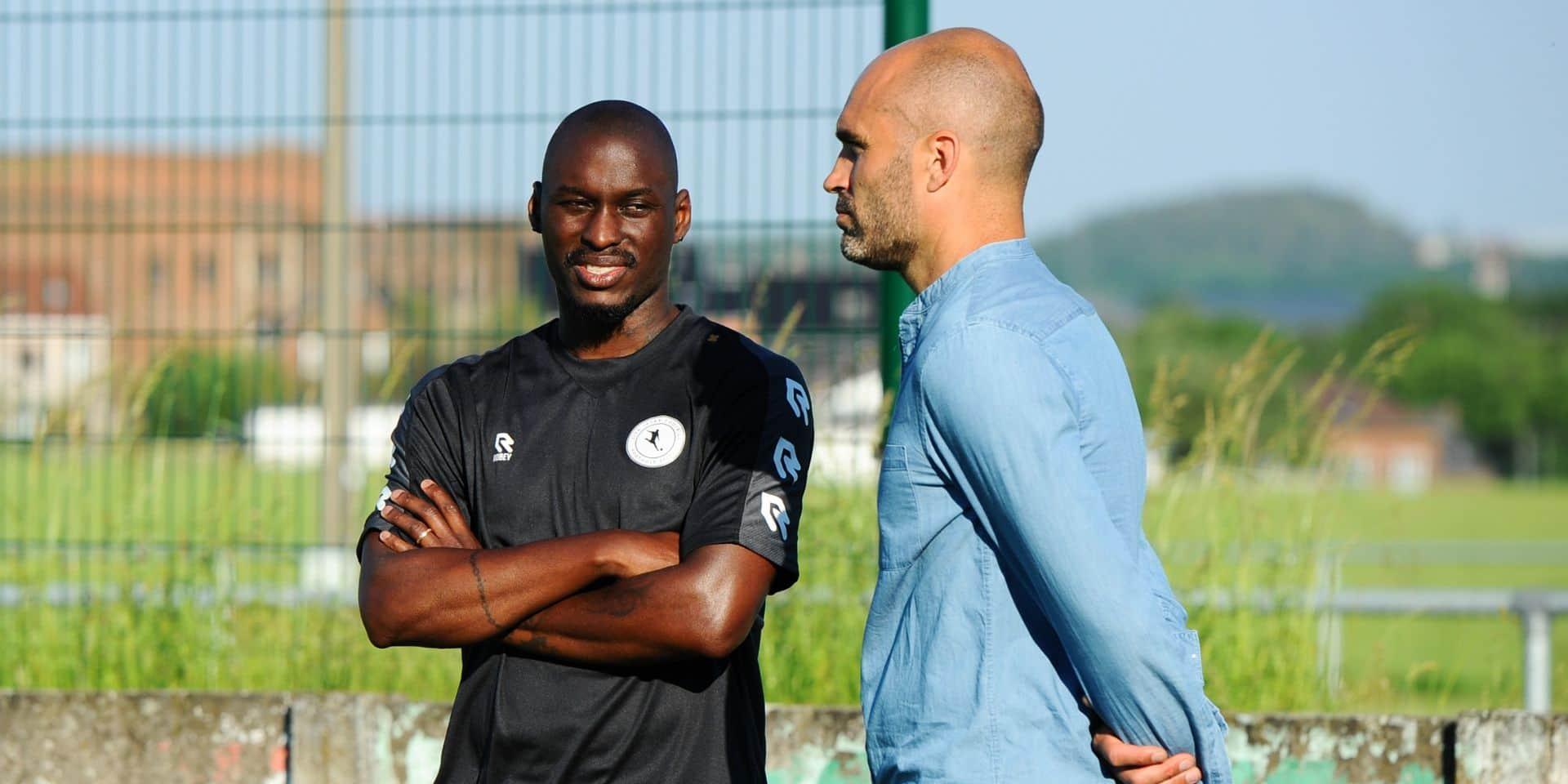 """A La Louvière Centre, si changement il doit y avoir au sein du staff, """"il le sera en interne mais Bourlard et Fortuné sont toujours coaches chez nous"""""""