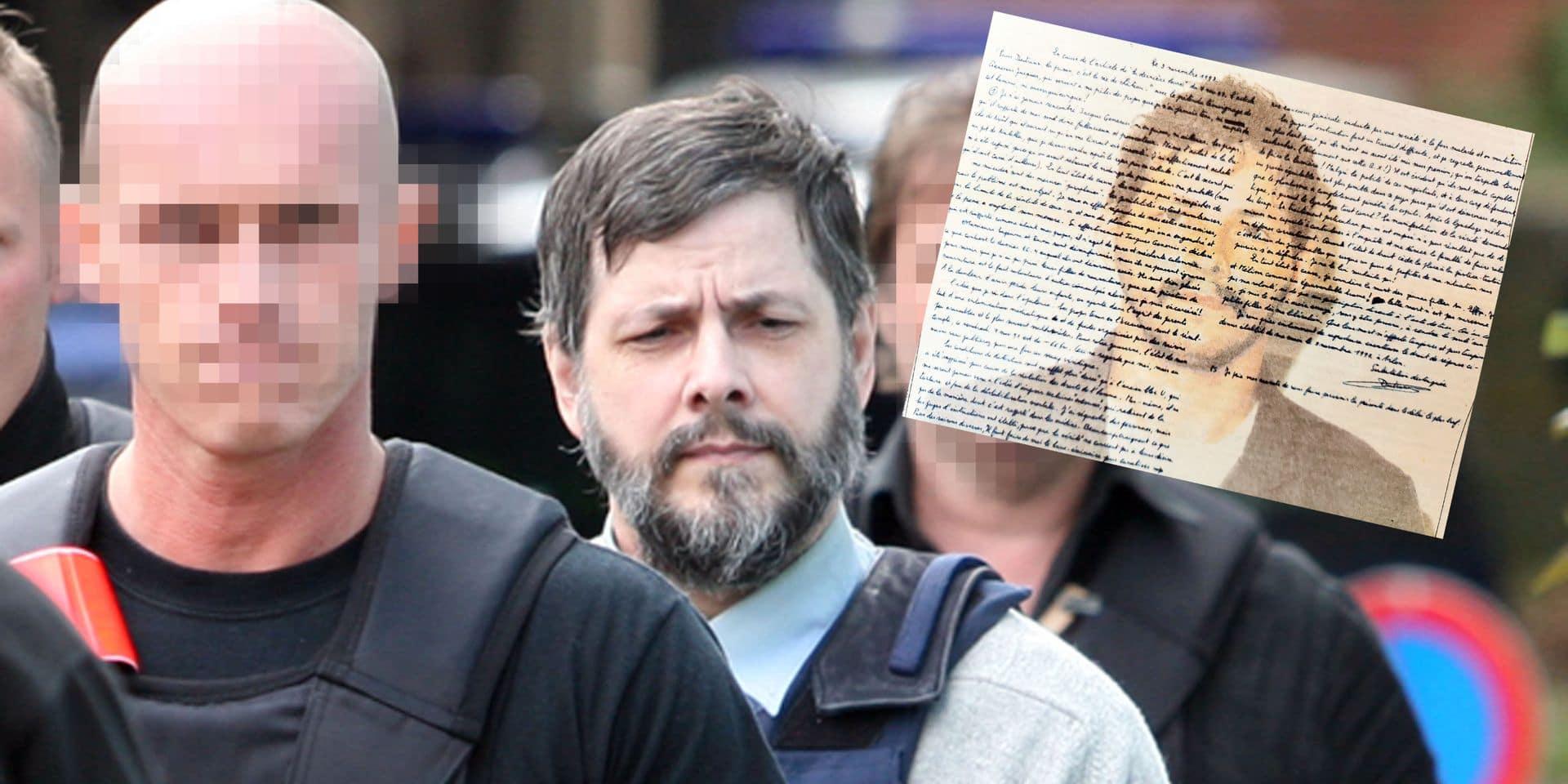 Les documents exclusifs de la DH: le 9 novembre 1997, Marc Dutroux écrit de prison pour la première fois