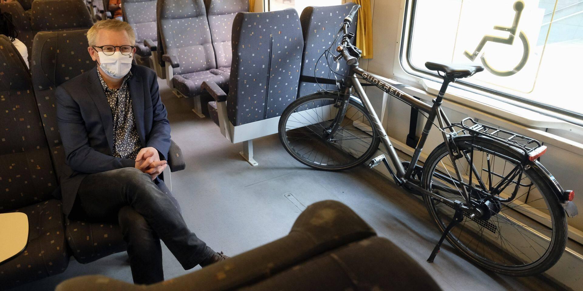 La SNCB, deuxième compagnie ferroviaire européenne la plus accueillante pour les cyclistes