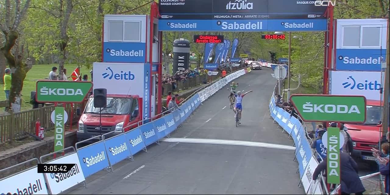Roglic renverse le Tour du Pays basque après une dernière étape complètement folle
