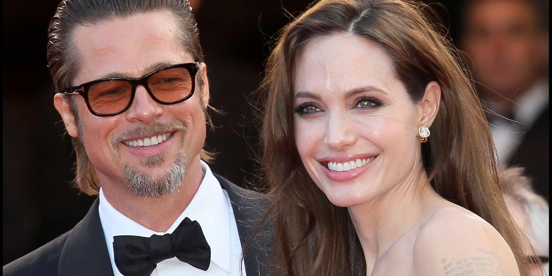 Brad Pitt et Angelina Jolie ont (enfin) enterré la hache de guerre