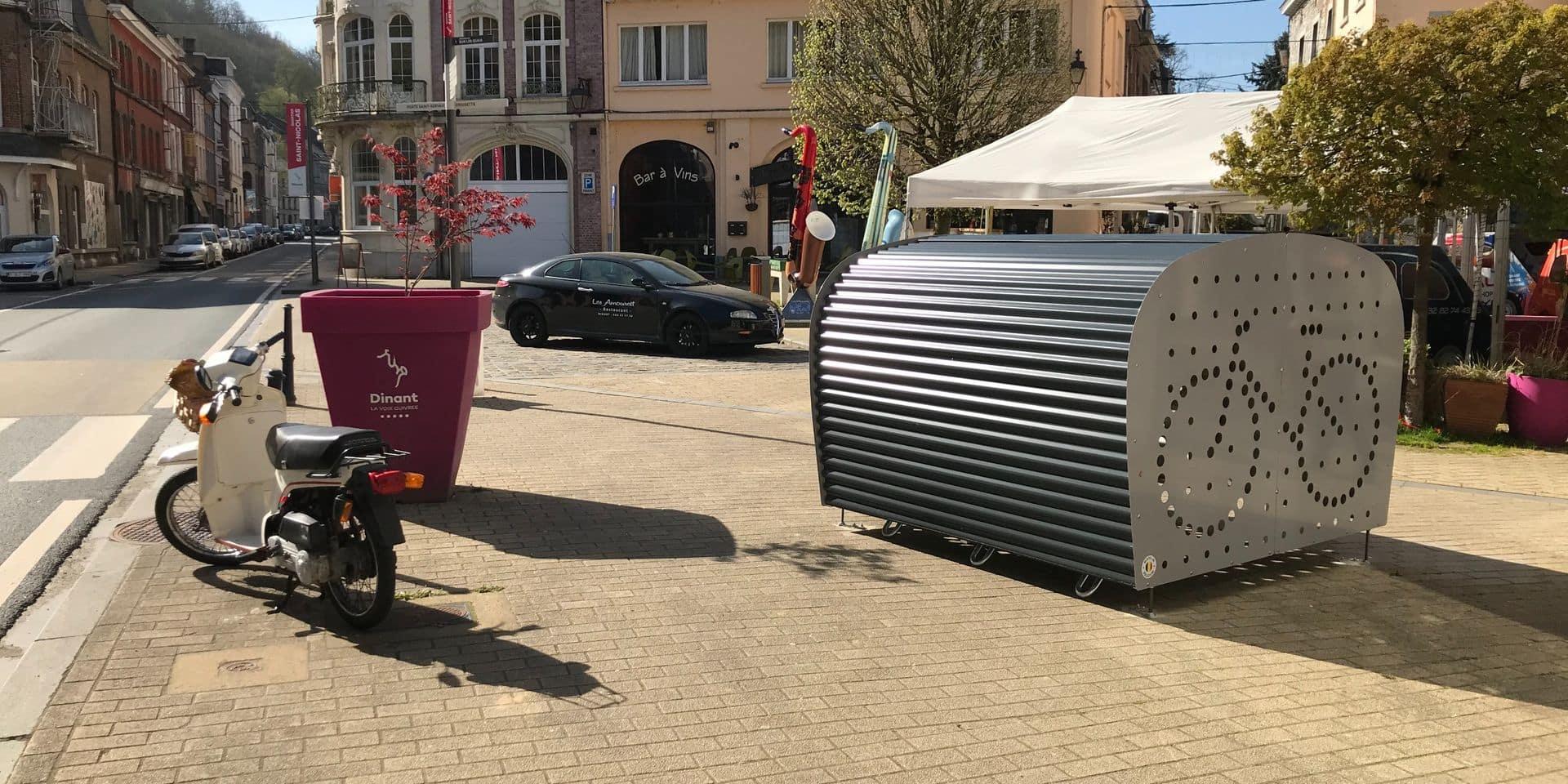 Des box sécurisés pour vélos installés à Dinant