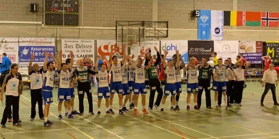 Handball: Visé qualifié pour les quarts de finale de la Challenge Cup
