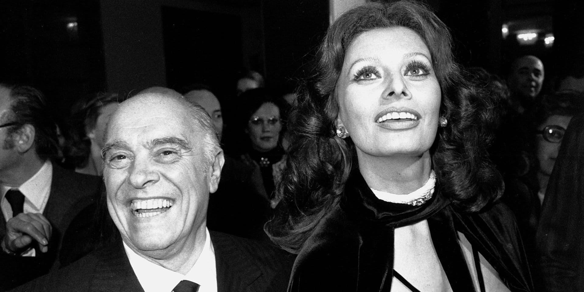 19 millions d'euros: le prix de vente de la villa romaine de Carlo Ponti, mari de Sophia Loren