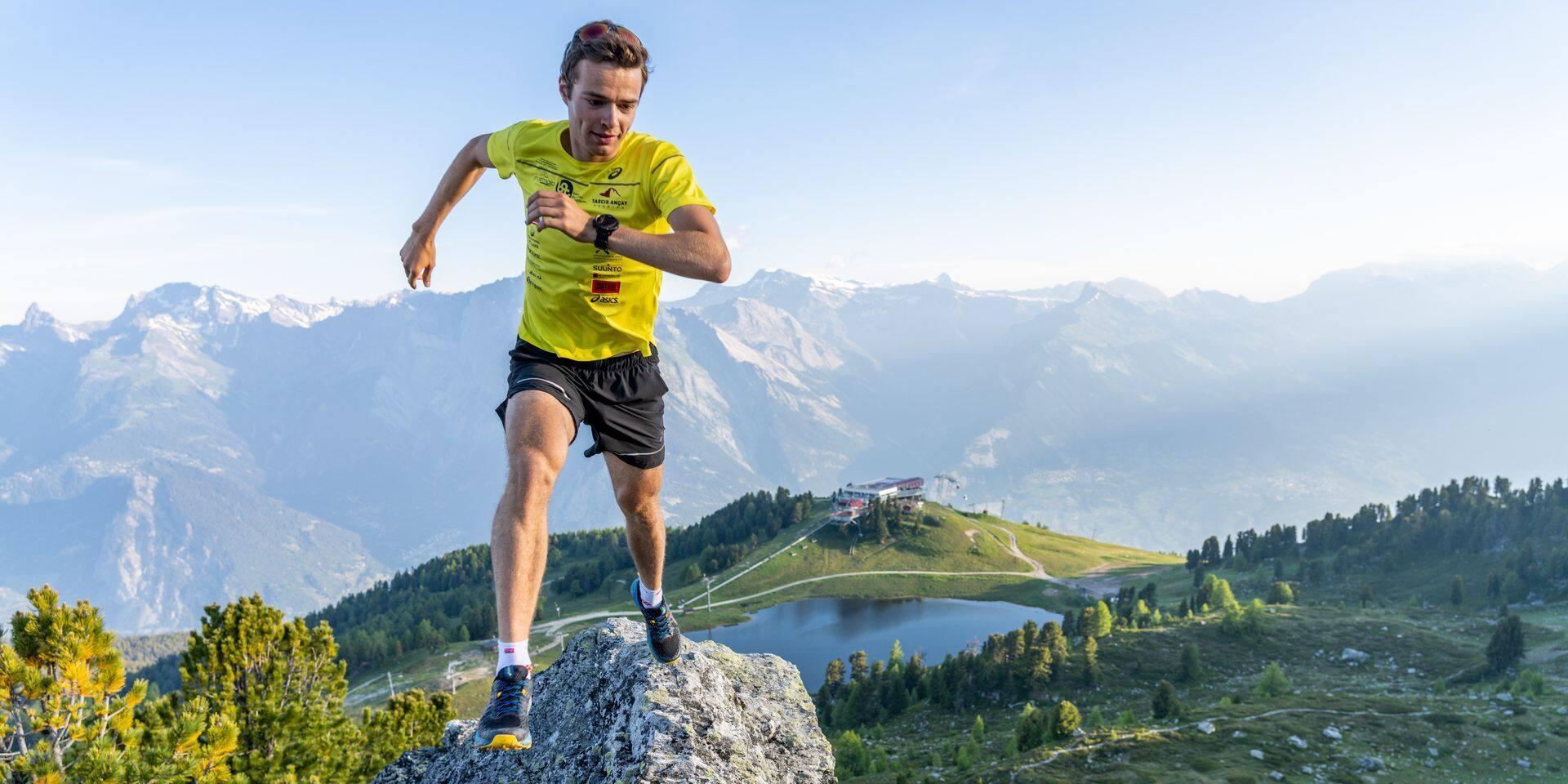 """Maximilien Drion vient se mesurer aux trails belges: """"J'apprécie courir longtemps mais j'aime surtout courir vite"""""""