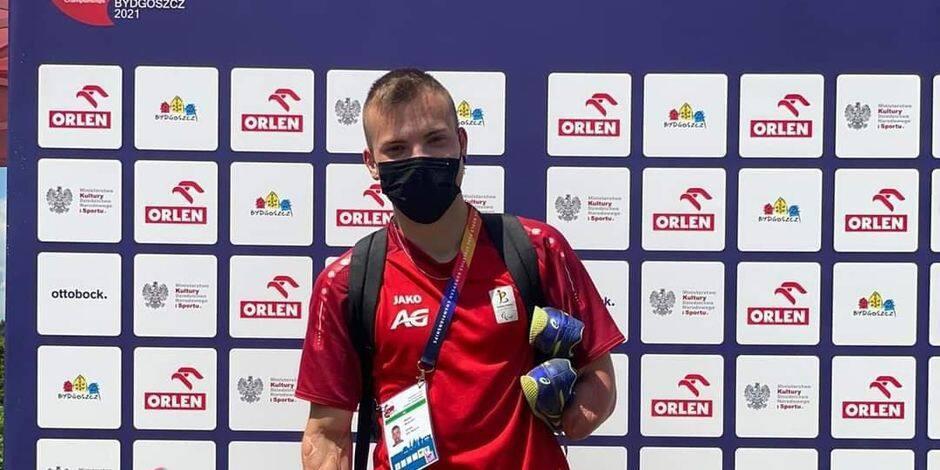 Le grand saut pour Mathieu Moulart qui a performé à l'Euro Handisport