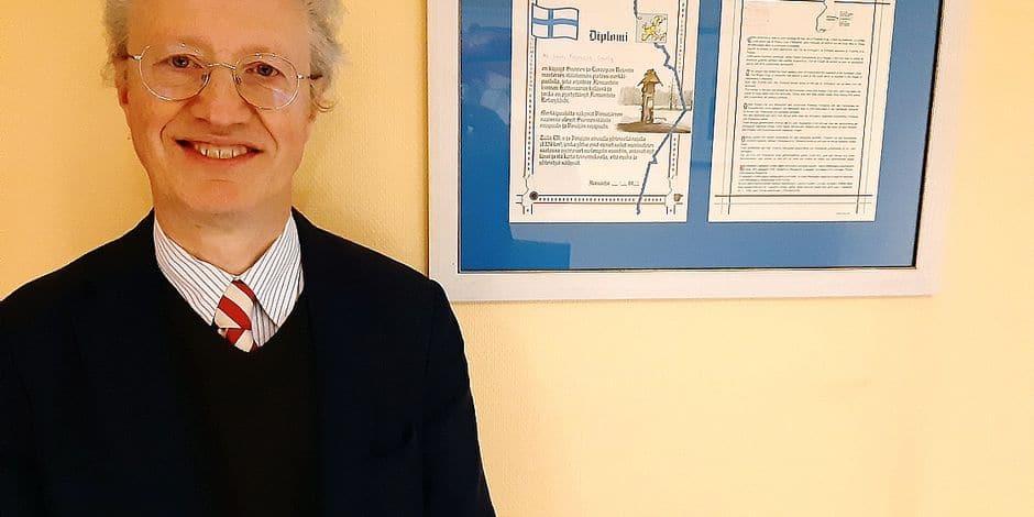 Rencontre avec Jean-François Gailly, consul honoraire de Finlande à Charleroi