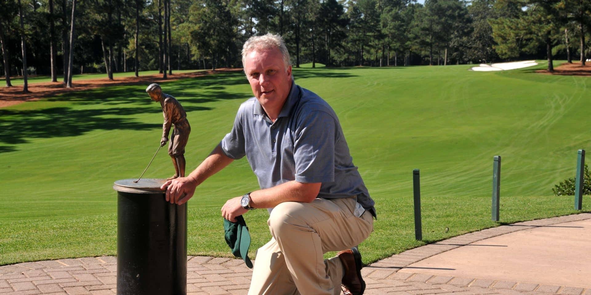 """Jan Baert connaît l'Augusta National, le théâtre traditionnel du Masters: """"Un club et un parcours uniques"""""""