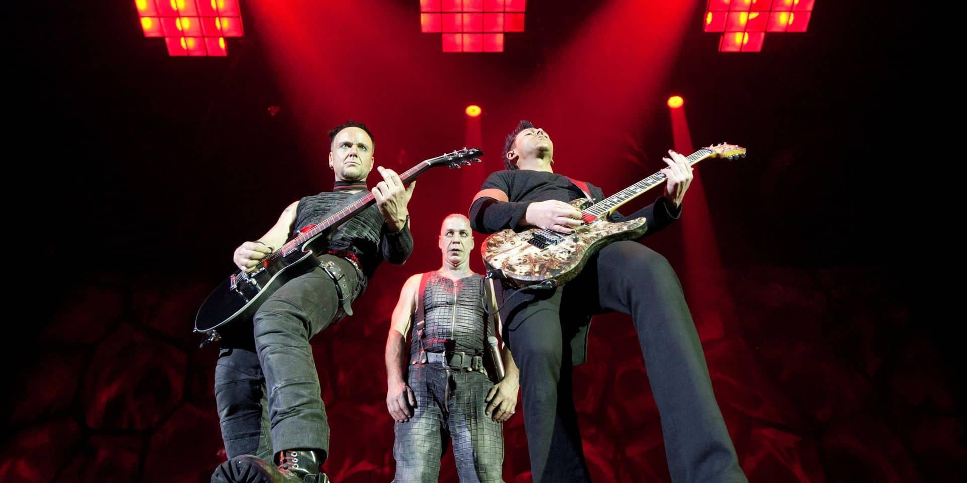 Le show de Rammstein à Ostende complet en 15 minutes