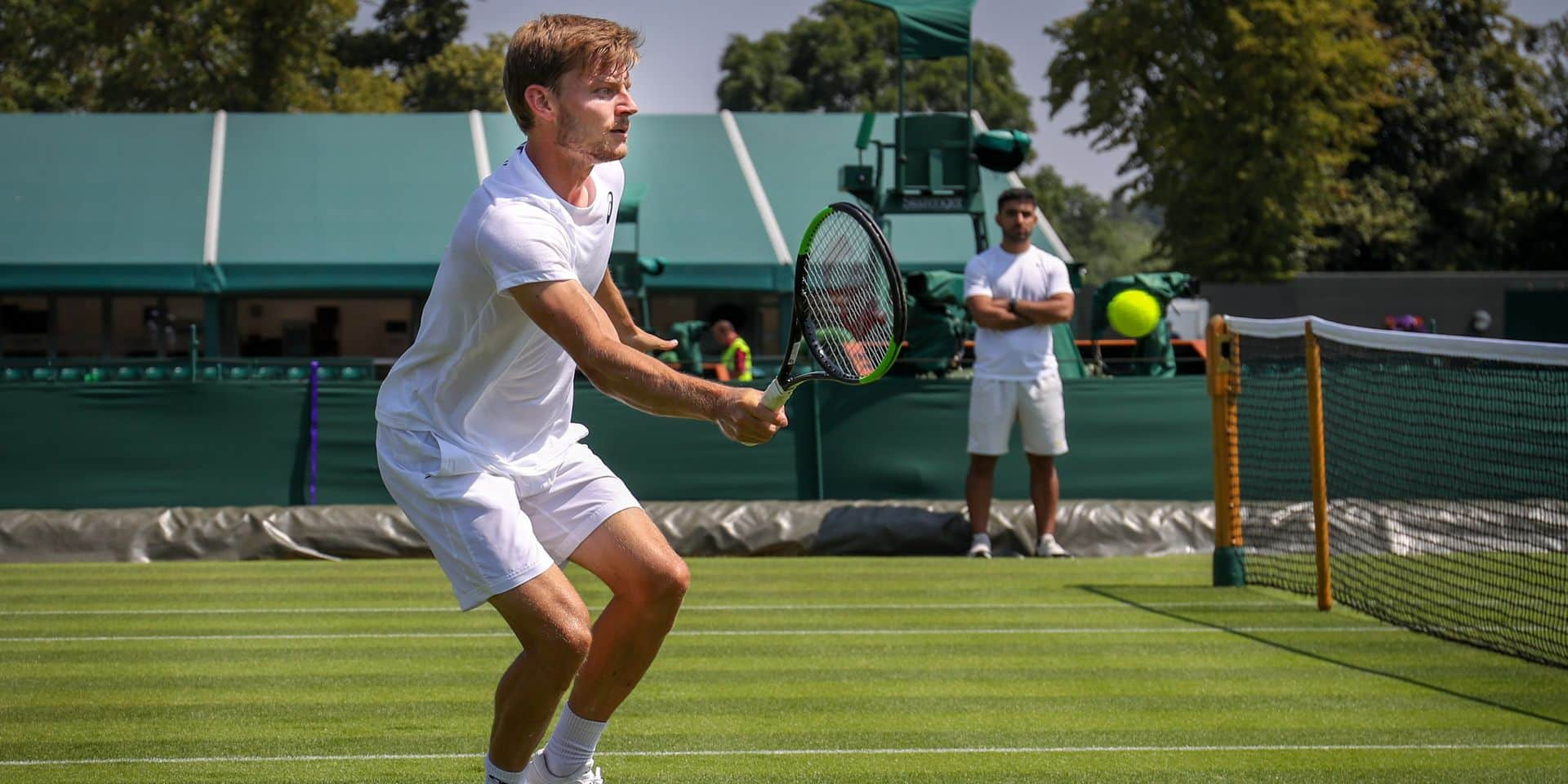 Wimbledon: David Goffin contre Matthew Ebden et Ruben Bemelmans face à Steve Johnson 1er tour