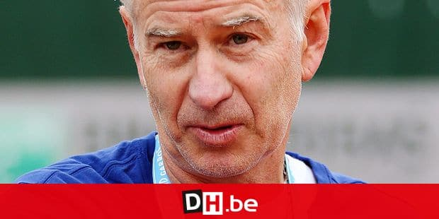 Former tennis player John McEnroe pictured during a training session at the Roland Garros French Open tennis tournament, in Paris, France, Sunday 29 May 2016. The Roland Garros Grand Slam takes place from 15 May to 5 June 2016. BELGA PHOTO VIRGINIE LEFOUR