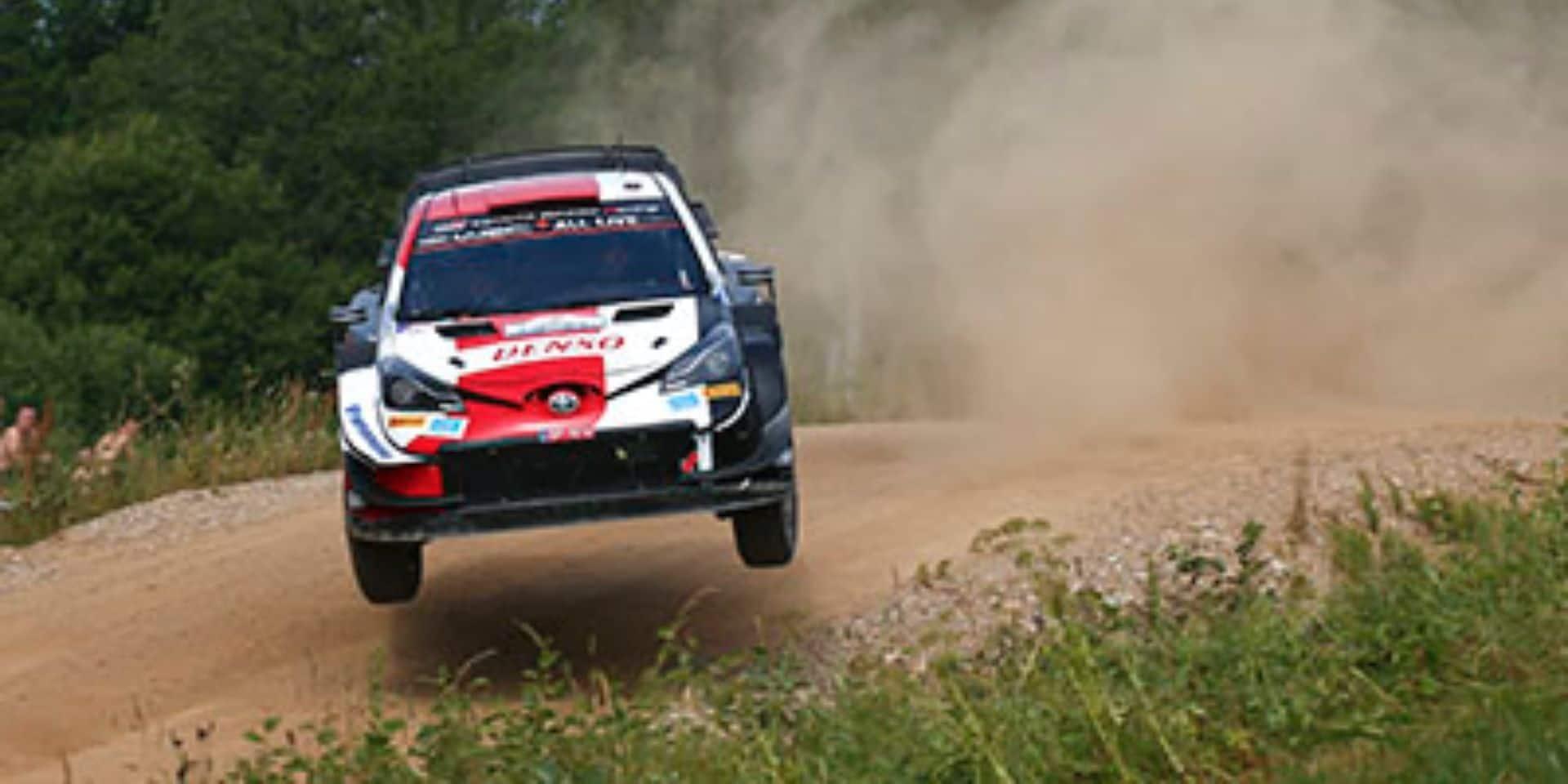 WRC Estonie Etape 2: Kalle Rovanpera à 52 km d'un nouveau record de précocité, Neuville 3e se met à l'abri d'Ogier