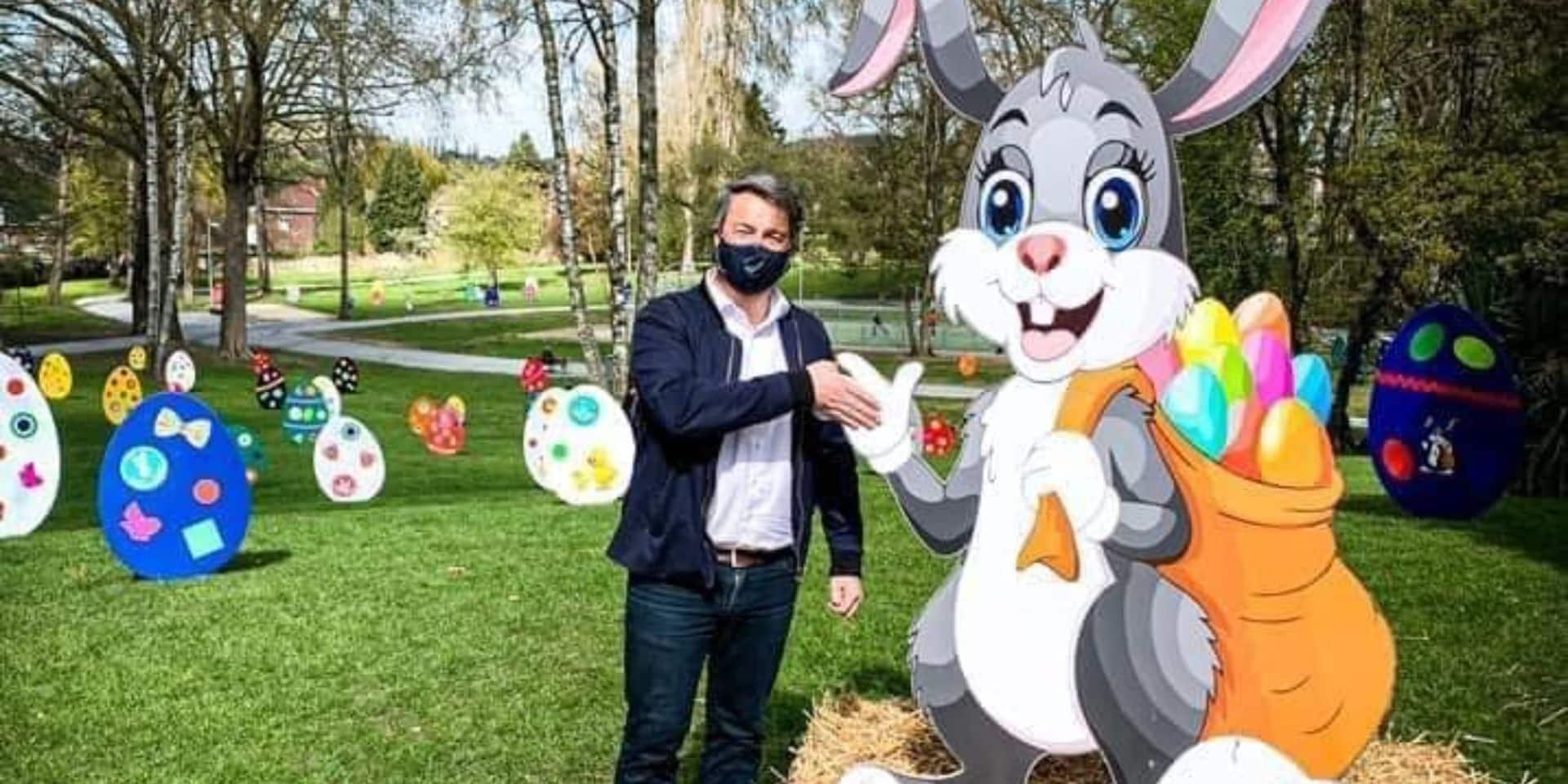 Binche: amende maximale pour l'individu qui avait détruit les œufs de Pâques