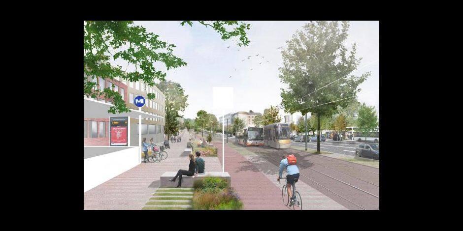 Le réaménagement de l'axe E411 en boulevard urbain soumis à l'enquête publique