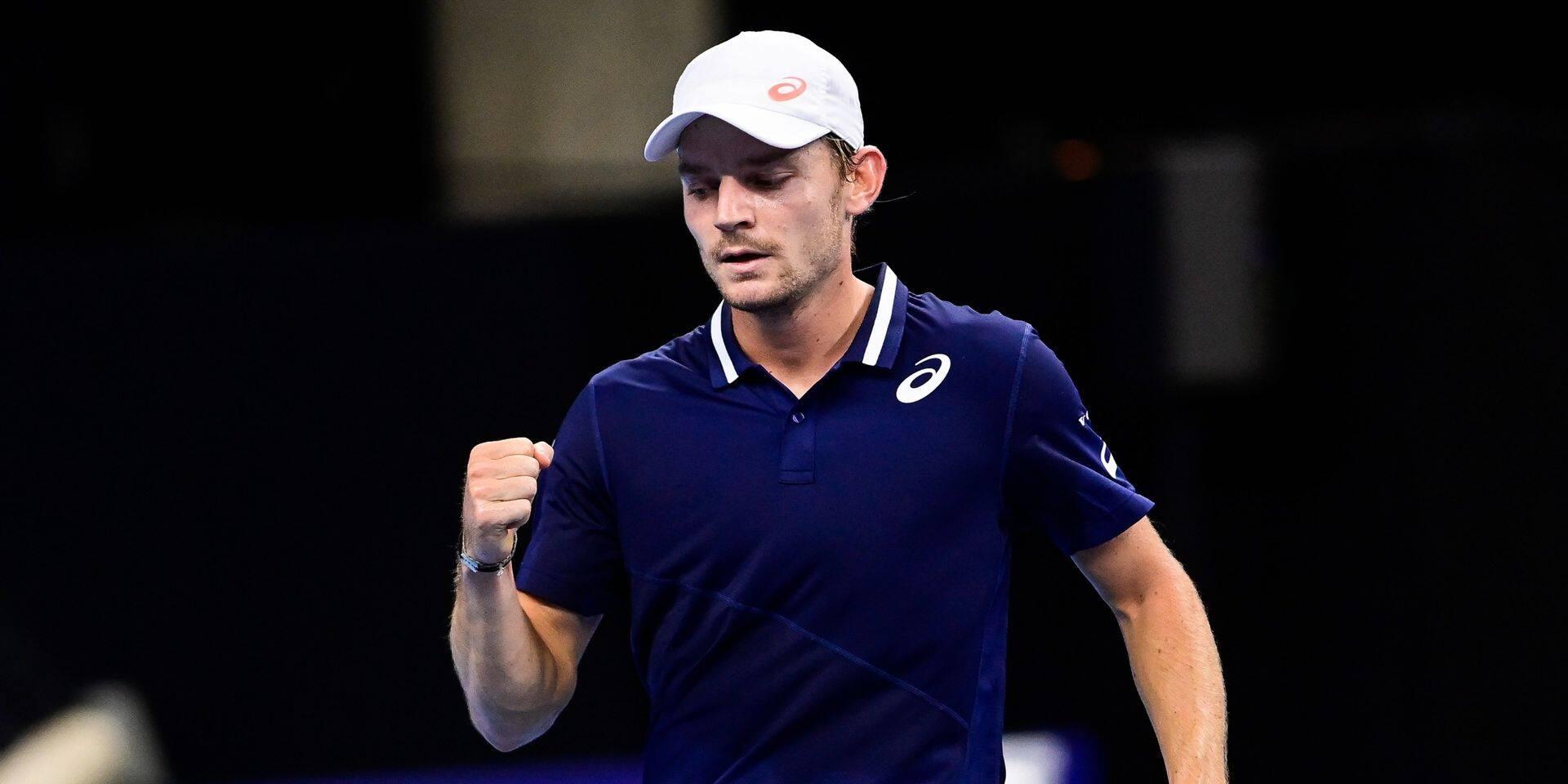 ATP Antalya: David Goffin, expéditif face à Stefano Travaglia, file en demi-finale