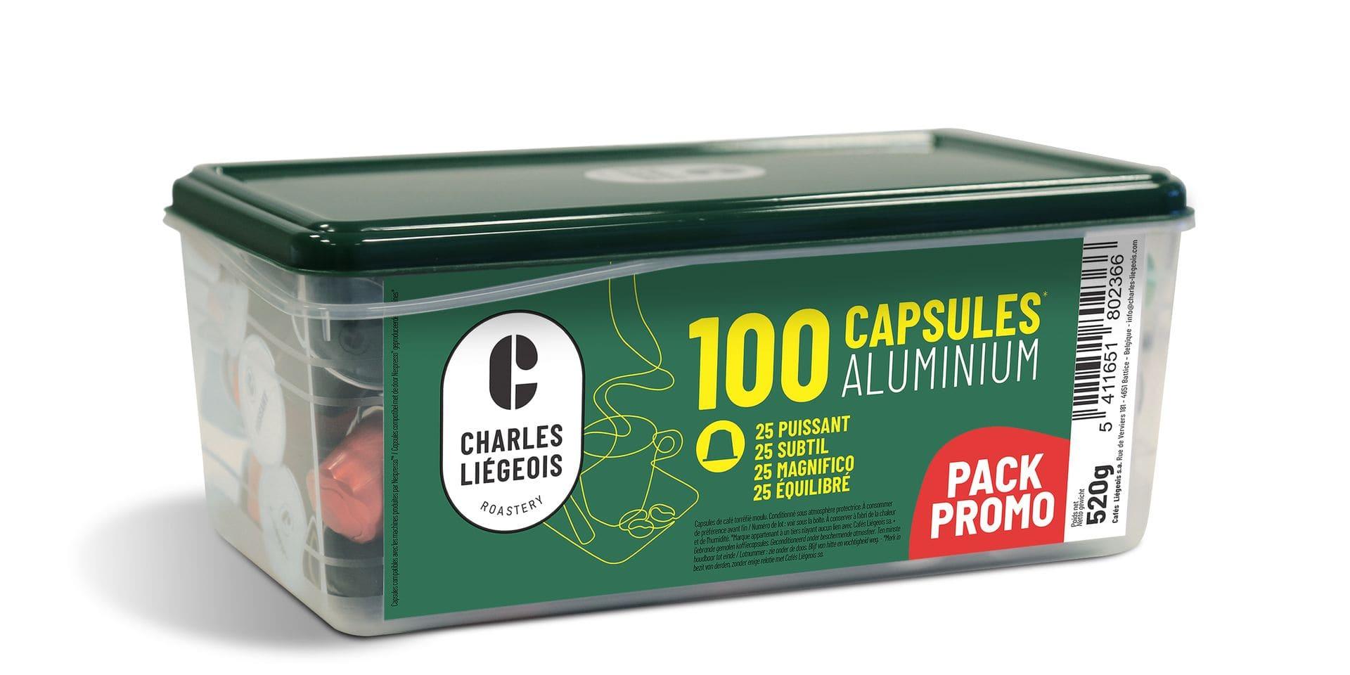 Gagnez 100 capsules nespresso Charles Liégeois ! 5000 capsules à gagner !