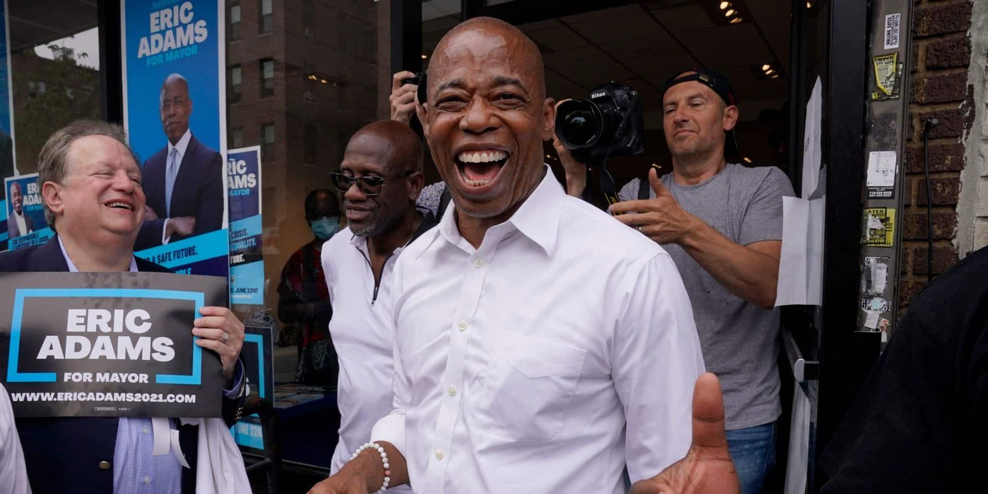 Un ex-policier noir donné gagnant de la primaire démocrate pour la mairie de New York