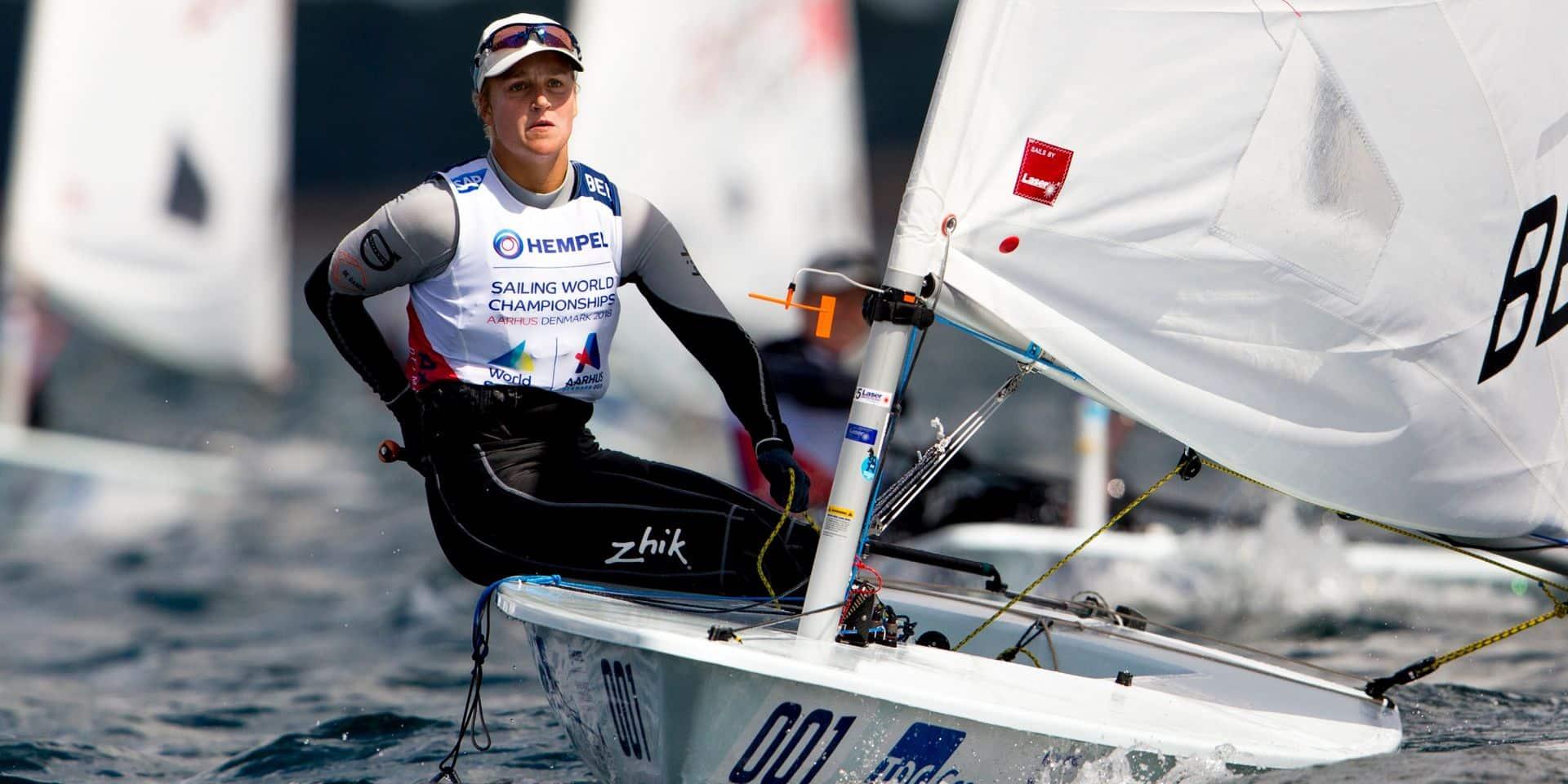Voile : Emma Plasschaert dans le Top 3 à l'Euro !