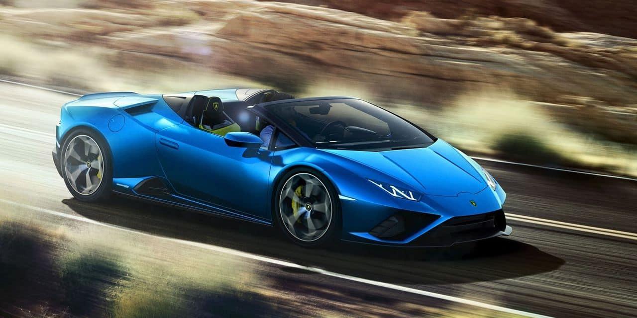 Lamborghini dévoile son nouveau modèle juste à temps pour l'été !