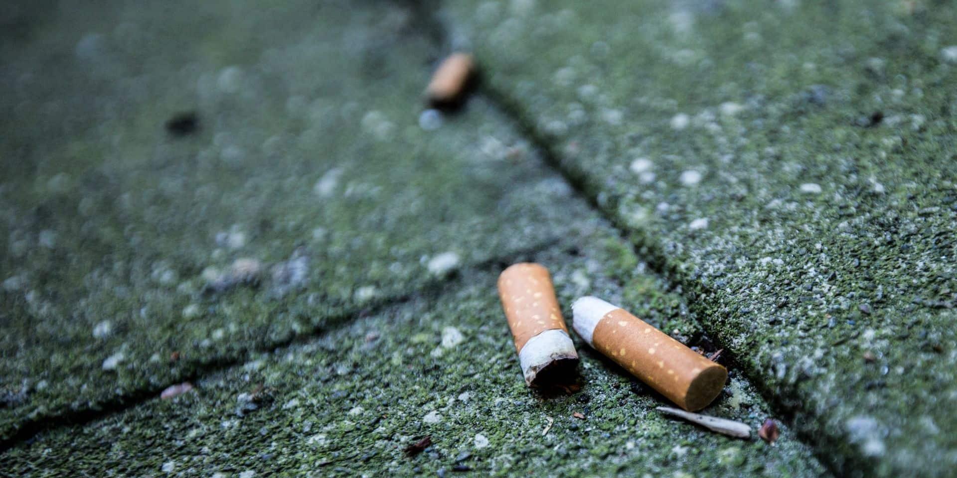 Estaimpuis dit stop au tabagisme et aux mégots dans les caniveaux !
